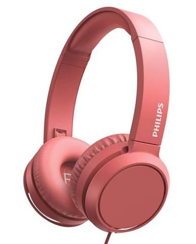 Slúchadlá Philips TAH4105 červená