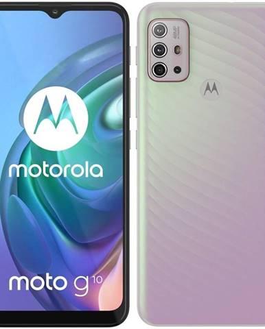 Mobilný telefón Motorola Moto G10 - Iridescent Pearl