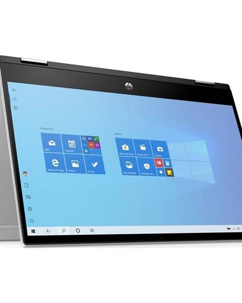 HP Notebook HP Pavilion x360 14-dw0002nc strieborný