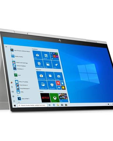 Notebook HP Envy x360 15-ed0003nc strieborný
