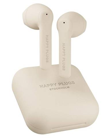 Slúchadlá Happy Plugs Air 1 Go béžov