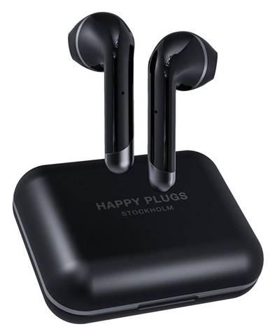 Slúchadlá Happy Plugs Air 1 Plus čierna