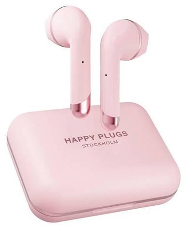 Slúchadlá Happy Plugs Air 1 Plus ružov