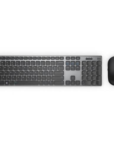 Klávesnica s myšou Dell KM717 čierna/sivá
