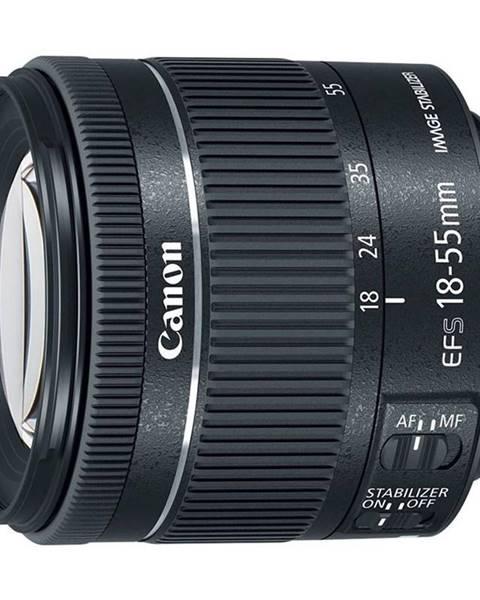 Canon Objektív Canon EF-S 18-55 mm f/4-5.6 IS STM čierny