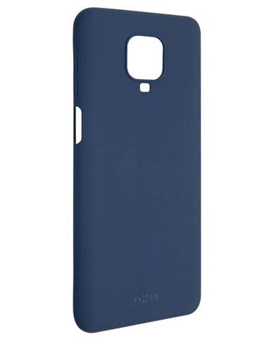 Kryt na mobil Fixed Story na Xiaomi Redmi Note 9 Pro modrý