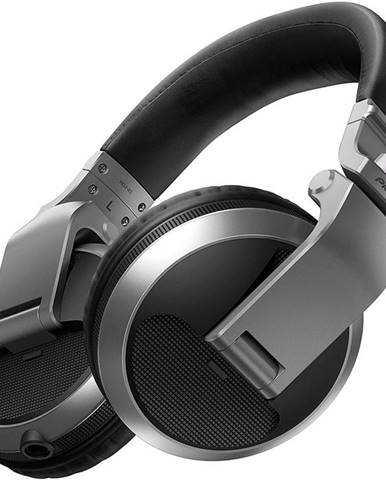 Slúchadlá Pioneer DJ HDJ-X5-S strieborná