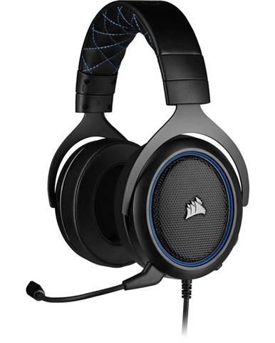Headset  Corsair HS50 Pro čierny/modrý