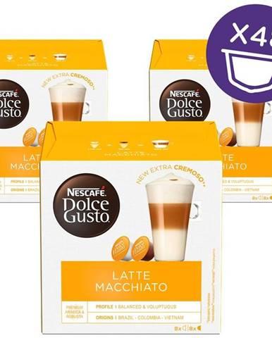 Kapsule pre espressa NescafÉ Latte Macchiatto BOX
