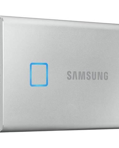 SSD externý Samsung T7 Touch 2TB strieborný