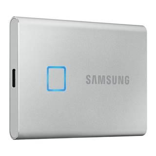 SSD externý Samsung T7 Touch 1TB strieborný