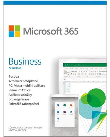 Software  Microsoft 365 Business standard CZ