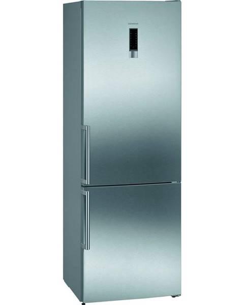 Siemens Kombinácia chladničky s mrazničkou Siemens iQ300 Kg49nxiep nerez