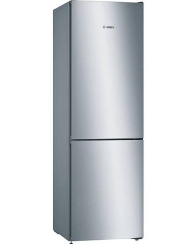 Kombinácia chladničky s mrazničkou Bosch Serie   4 Kgn36vldd nerez