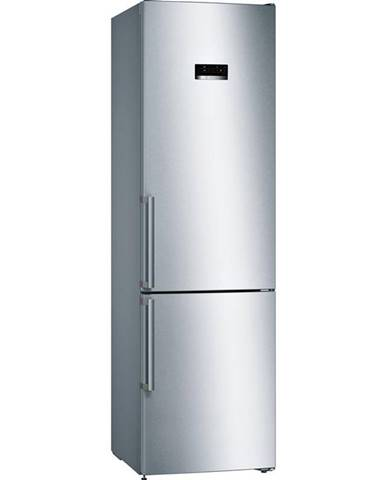 Kombinácia chladničky s mrazničkou Bosch Serie   4 Kgn39xidq nerez