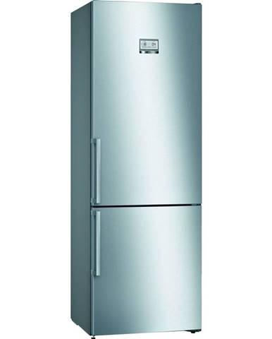 Kombinácia chladničky s mrazničkou Bosch Serie   6 Kgn49aidp nerez