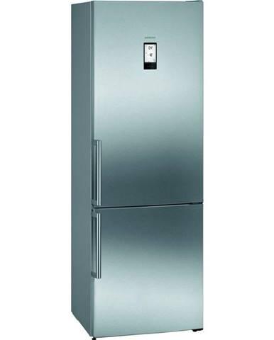 Kombinácia chladničky s mrazničkou Siemens iQ500 Kg49naidp nerez
