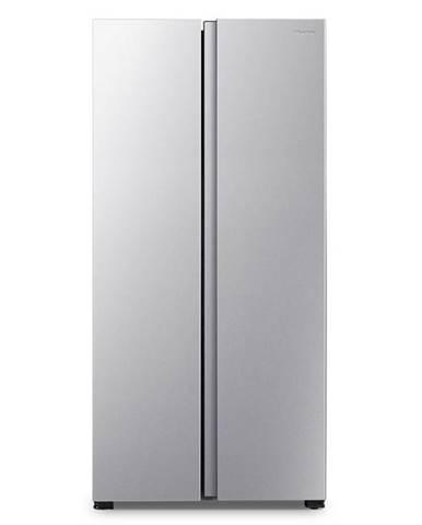 Americká chladnička Hisense Rs560n4ad1 strieborn