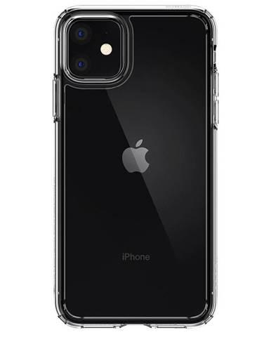 Kryt na mobil Spigen Ultra Hybrid na Apple iPhone 11 priehľadný