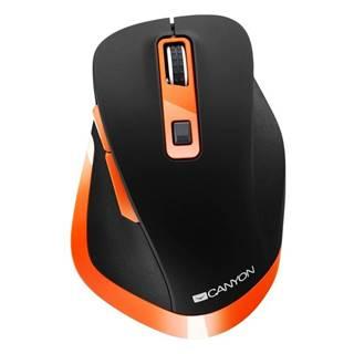 Myš  Canyon CNS-Cmsw14bo čierna/oranžová