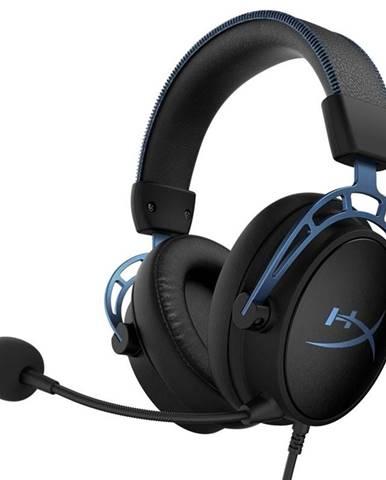 Headset  HyperX Cloud Alpha S čierny/modrý