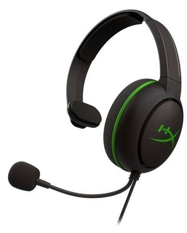 Headset  HyperX CloudX Chat pro Xbox čierny/zelený