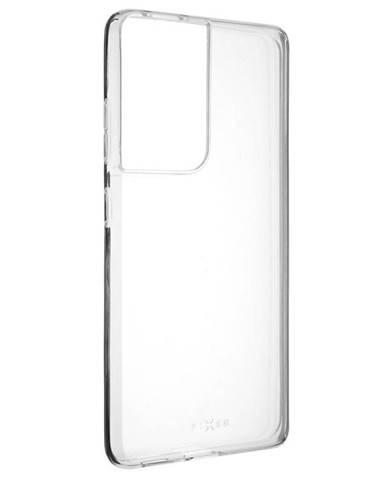 Kryt na mobil Fixed Skin na Samsung Galaxy S21 Ultra 5G priehľadný