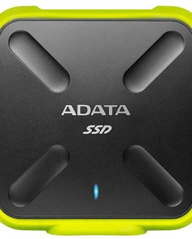 SSD externý Adata SD700 256GB čierny/žltý