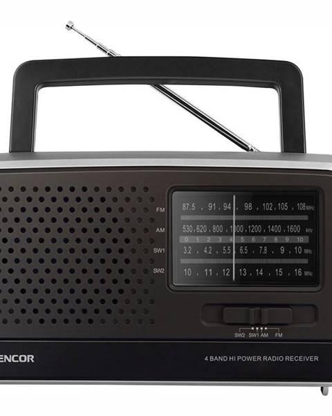 Sencor Rádioprijímač Sencor SRD 2806 čierny