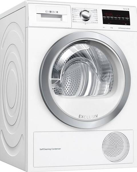 Bosch Sušička bielizne Bosch Serie | 6 Wtw85491by biela