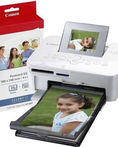 Fototlačiareň Canon Selphy Selphy CP1000 + fotopapier KP-36 biela