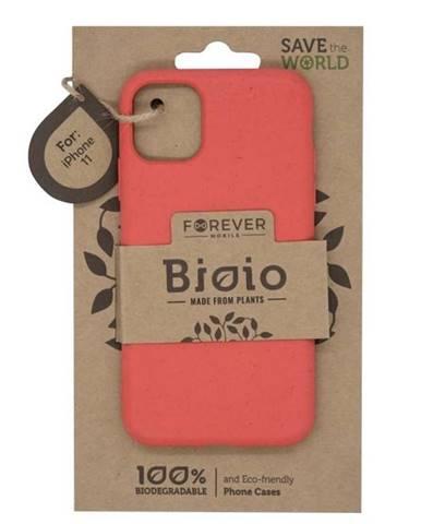 Kryt na mobil Forever Bioio na Apple iPhone 11 červený
