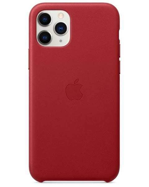 Apple Kryt na mobil Apple Leather Case pre iPhone 11 Pro -