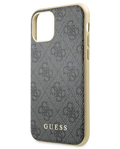 Kryt na mobil Guess 4G na Apple iPhone 11 sivý