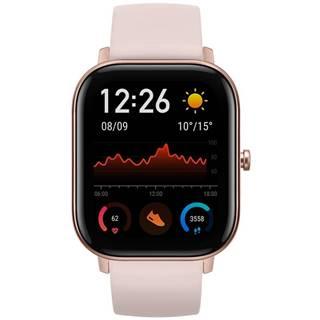 Inteligentné hodinky Amazfit GTS ružové