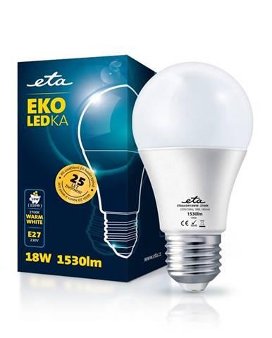 LED žiarovka ETA EKO LEDka klasik 18W, E27, teplá biela