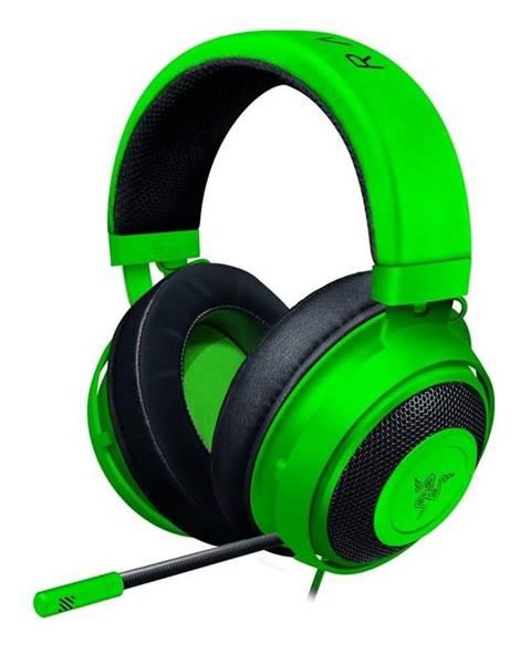 Razer Headset  Razer Kraken zelený
