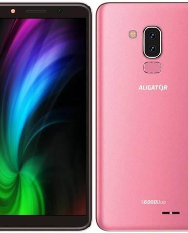 Mobilný telefón Aligator S6000 Dual SIM ružový