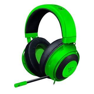 Headset  Razer Kraken zelený
