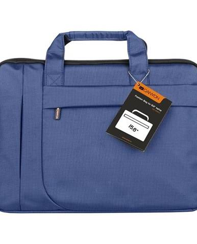Brašna na notebook Canyon Fashion toploader modrá