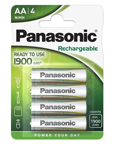 Batéria nabíjacie Panasonic Ready to AA, HR06, 1900mAh, Ni-MH,