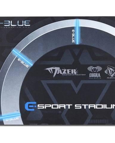 Podložka pod myš  E-Blue Gaming Arena, 26 x 21 cm čierna/sivá