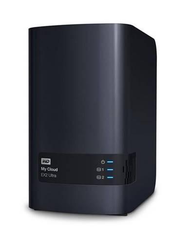 Sieťové úložište Western Digital My Cloud EX2 Ultra 4TB čierne