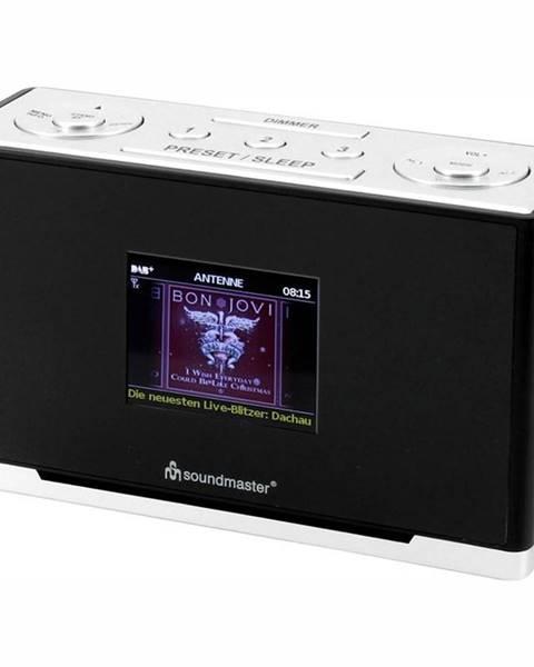 Soundmaster Rádiobudík Soundmaster Ur240sw čierny