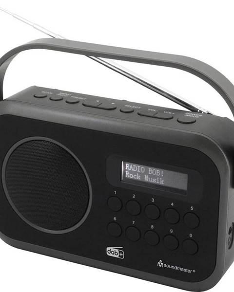 Soundmaster Rádioprijímač s DAB+ Soundmaster Dab270sw čierny