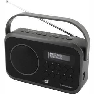 Rádioprijímač s DAB+ Soundmaster Dab270sw čierny
