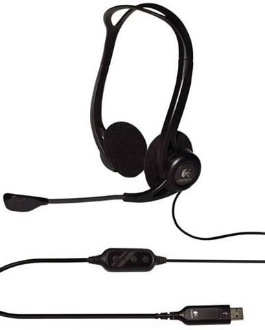 Headset  Logitech 960 USB čierny