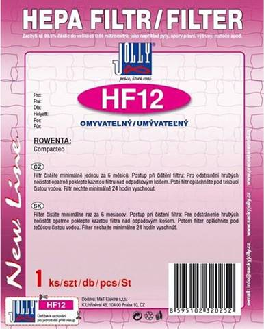 Hepa filter pre vysávače Jolly HF12 zelen