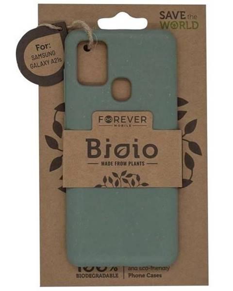 Forever Kryt na mobil Forever Bioio na Samsung Galaxy A21s zelený