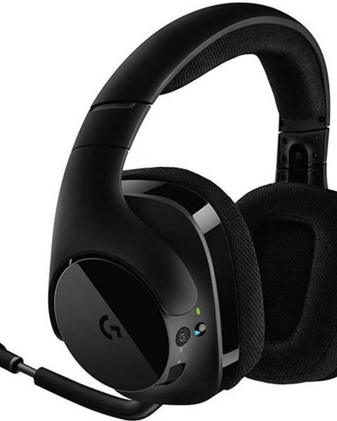 Logitech Headset  Logitech Gaming G533 Wireless čierny